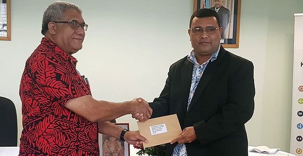 Fiji Red Cross Society received $35,000 from an angel