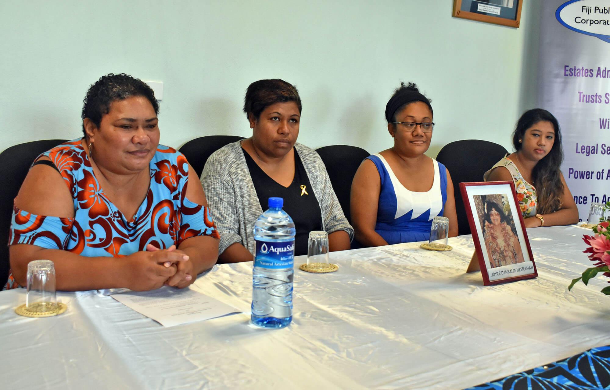 Late cancer victim through FPTCL donates $10k towards WOWS Kids Fiji