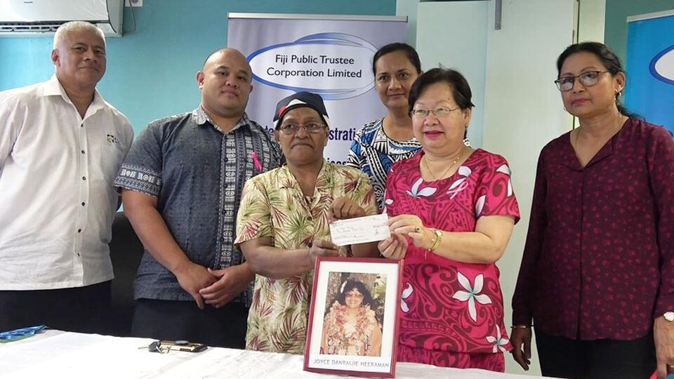 FPTCL donates $10K to the Fiji Cancer Society