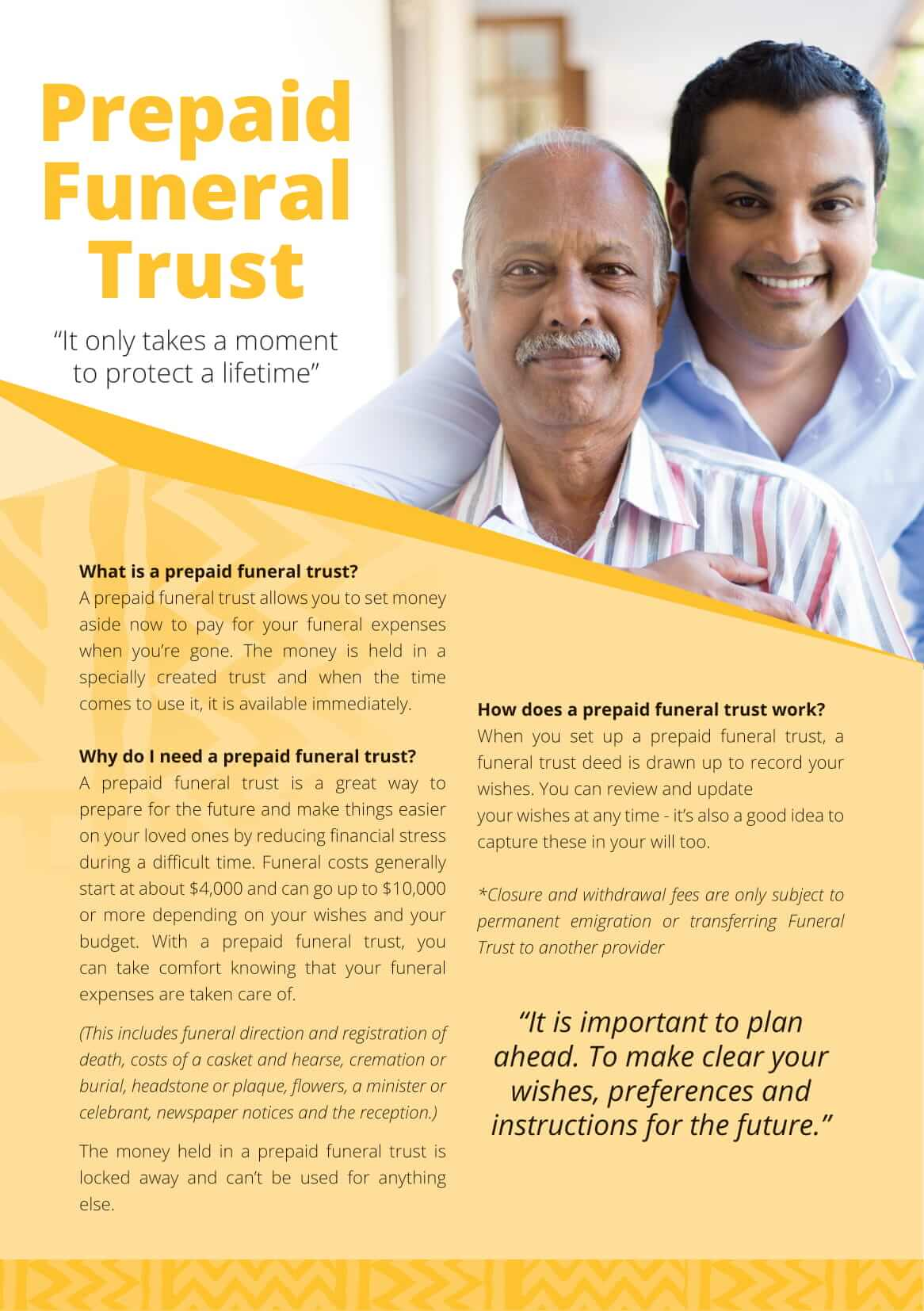 Prepaid Funeral Trust
